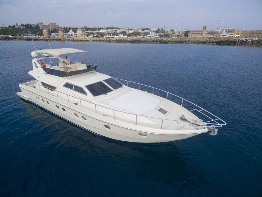 rhodes yacht